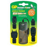 Зарядное устройство портативное GP Instant Power GPXPG01 + КОЖАНЫЙ ЧЕХОЛ ключник (подарок) фирмы AKA