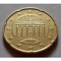 20 евроцентов, Германия 2002 G