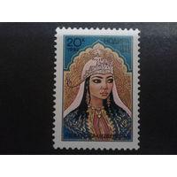 Узбекистан 1992 принцесса Нодира, поэтесса