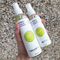 Экспресс-очиститель кистей с маслом бергамота Manlypro 250 ml