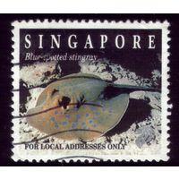 1 марка 1994 год Сингапур Скат 750