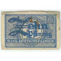 Германия, 10 пфеннингов 1948 год.