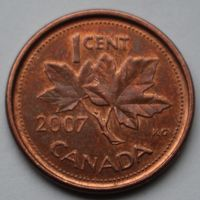 1 цент 2007 Канада
