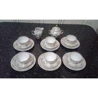Рижский чайно-кофейный сервиз(ссср)