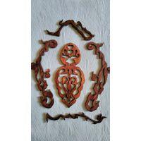 Накладки деревянные на мебель старинную, декор для мебели