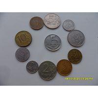 Набор монет лот 32 /цена за все/