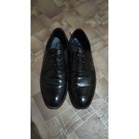 Черные туфли 41 размера