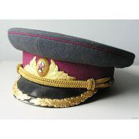 Парадная фуражка офицера пехоты Советсткой Армии обр. 1955 года