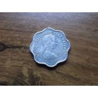 Восточные Карибы 5 центов 1992