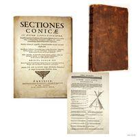 RRR...1685 Ла Гир, Филипп. Конические сечения ПЕРВОЕ ИЗДАНИЕ