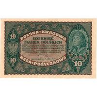 Польша, 10 марок, 1919 г.