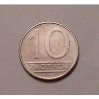 10 злотых, Польша 1986 г.
