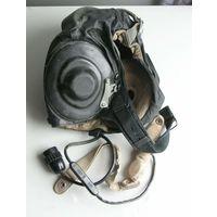 Шлемофон лётный ШЛ-82 с ларингофонами  1989 год размер 57