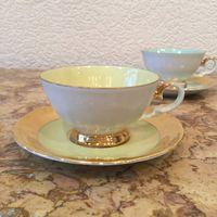 Кофейная пара (чашка с блюдцем) Лимонная нота, Германия