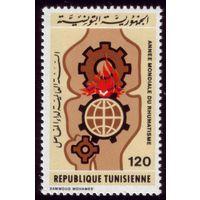 1 марка 1977 год Тунис 921