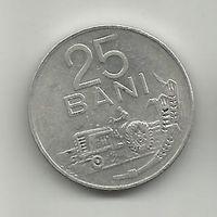 25 бани Румыния алюм.