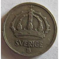 Швеция 10 эре 1944 серебро