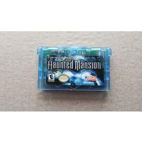 Картридж GameBoy Advance The Haunted Mansion не оригинал