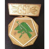 Военный значок ГДР