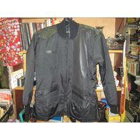 Американская удлиненная байкерская куртка, на 54/5 размер.