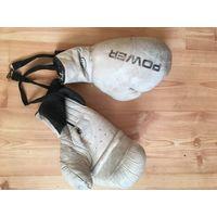 Личные боксёрские  перчатки т.Кобы-кажется югославские-большая  редкость советского времени.