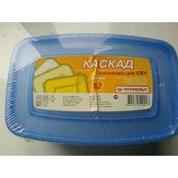 """Упаковка Контейнеров для СВЧ """"Каскад"""" - 0,7 литра - 3 штуки в упаковке."""