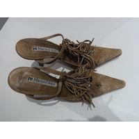 Туфли, сабо Marino Fabiani, размер 36, на узкую ногу