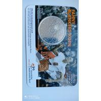 5 евро 2016 Нидерланды ,койнкард, серебро