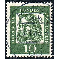 118: Германия (Западный Берлин), почтовая марка, 1961 год