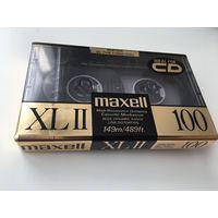 Новая Чистая Компакт Кассета Mагнитофонная Аудиокассета Maxell XLII 100 Япония США Пересылка БЕСПЛАТНО
