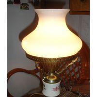 Плафон для настольной лампы, светильника, люстры Людмила, бра диаметр 17,5 см Смотрите фото!