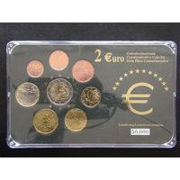 YS: Италия, комплект из 8 монет 1 цент - 2 евро 2002-2006, UNC, тираж 50000 экз.