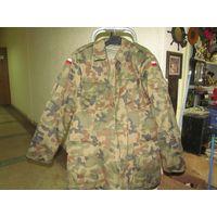 Отличная польская армейская утепленная куртка(бушлат) с подстежкой. Размер на фото.