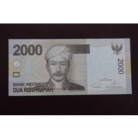 Индонезии 2000 рупий 2014 UNC