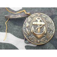Пряжка ВМФ СССР. Как есть
