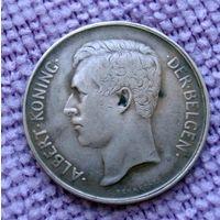 Бельгия. 2 франка 1911 г.