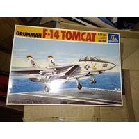 1/72 Italeri Cat# 156  F-14 Tomcat -  модель выпуска 1992 года