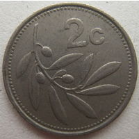 Мальта 2 цента 1995 г. (g)