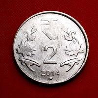 43-06 Индия, 2 рупии 2014 г.