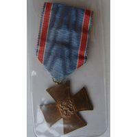 Чехословакия.Памятный крест чехословацких добровольцев 1918-1919 гг.