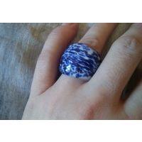 Массивное кольцо, стекло, из Венеции