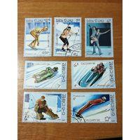 Лаос 1987. Зимние олимпийские игры. Полная серия