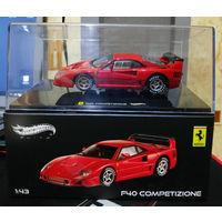 Ferrari F40 Competizione Hot Wheels Elite 1:43