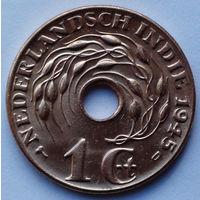 Голландская Ост-Индия 1 цент, 1945 (D)