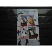 Марки - Руанда, фауна, пингвины