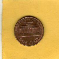 США 1 цент 1988