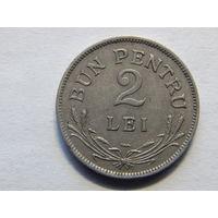 Румыния 2 лея 1924г