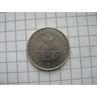 Гаити 5 сантимов 1997г.