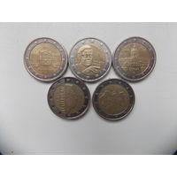 Монеты евро 6
