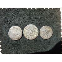3 красивых солида одним лотом .Солид 1634 года ( Редкий ).